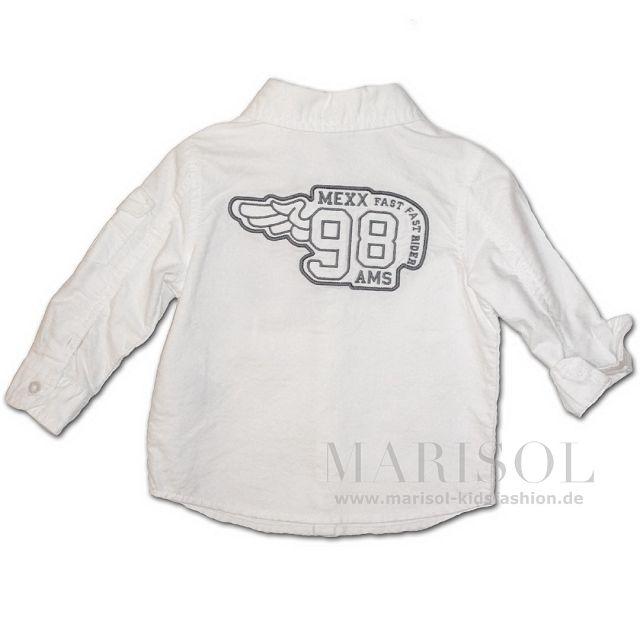 27e39b56b2c MEXX Baby Hemd white/en - Marisol-Kidsfashion