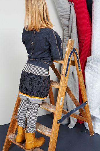 Kiezel tje Leggings antra stripe en  Marisol Kidsfashion