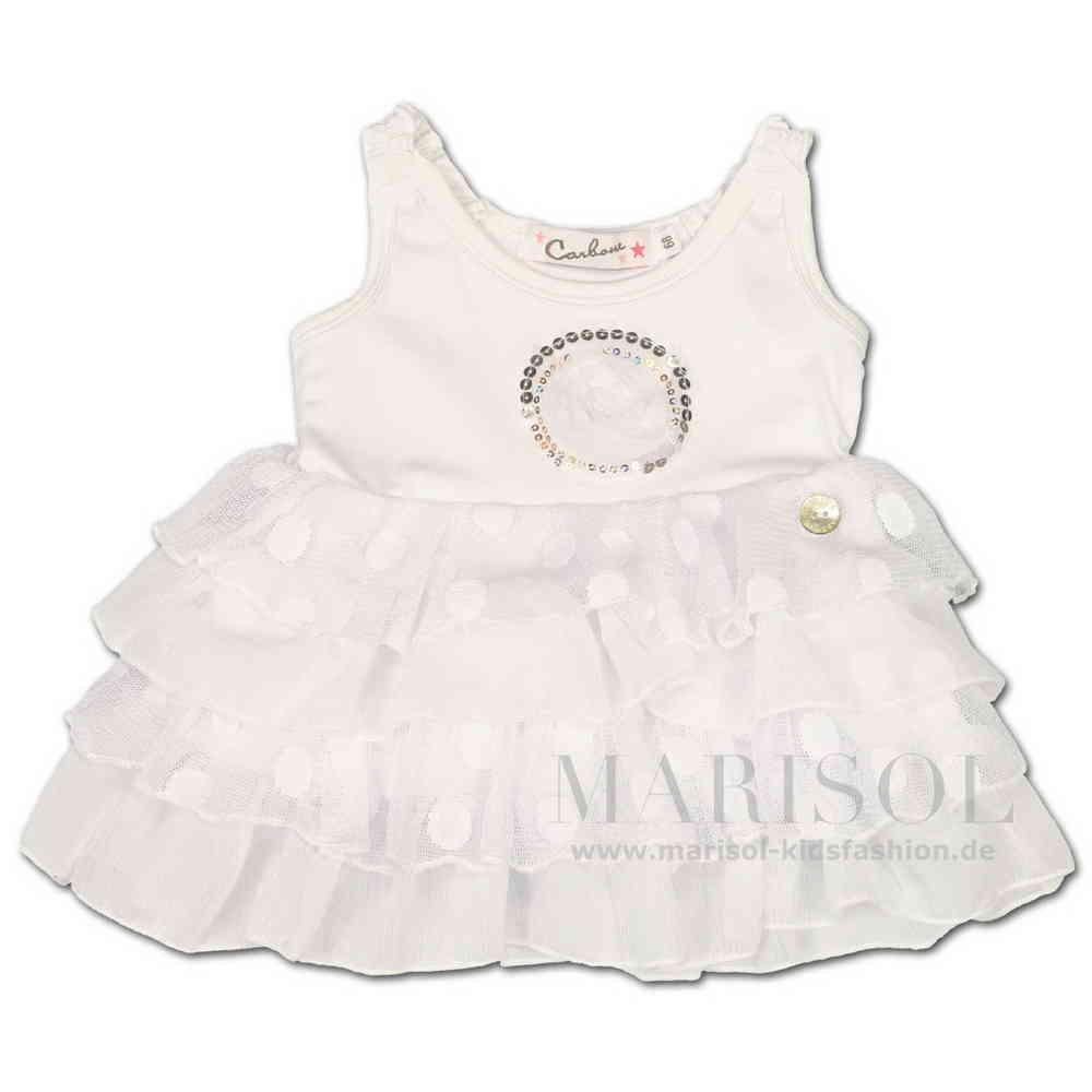 super popular fbaee e18f6 Carbone Baby festliches Kleid weiss