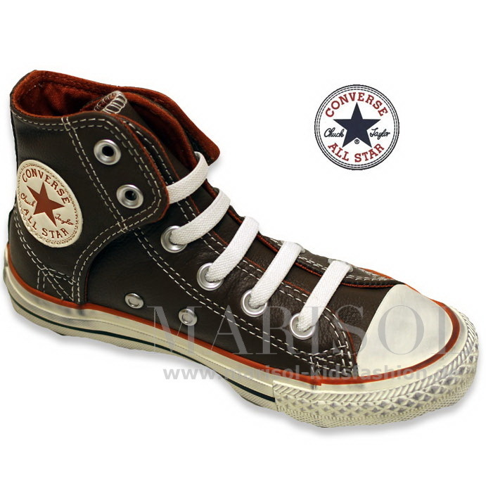 newest d651b 441ac Converse Chuck AS Easy HI LEA pinecone/rust