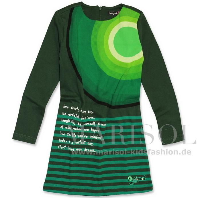 many styles pick up pretty cool Desigual Kleid LILA verde oscuro - Marisol-Kidsfashion