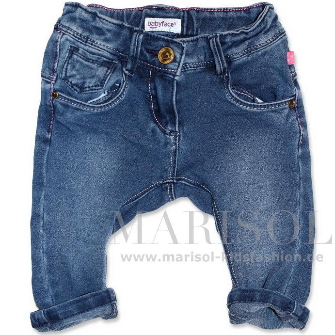 farblich passend große Sammlung neue Liste Babyface Mädchen Jogg-Jeans blue
