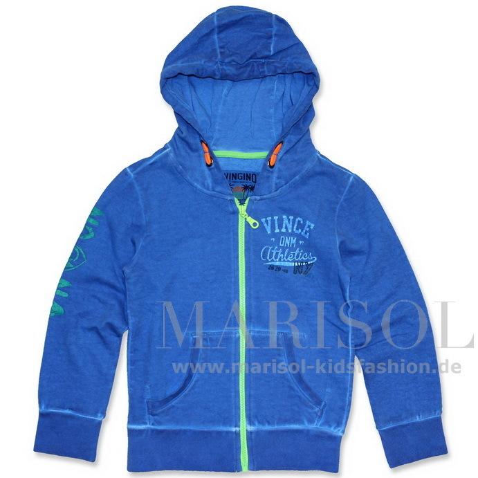 neueste trends Promo-Codes zum halben Preis Vingino Nino Sweatjacke color paint blue - Marisol-Kidsfashion