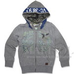 Vingino NART Sweatjacke light grey melee