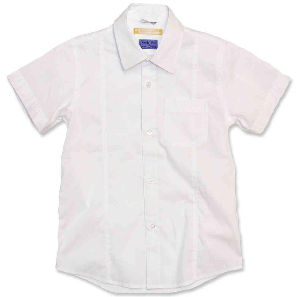 61fdd316b6d Sarabanda Kurzarm-Hemd weiß - festlich