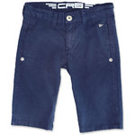 Carbone festliche Chino Shorts navy