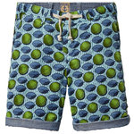 Scotch Shrunk Bermuda reversible blau