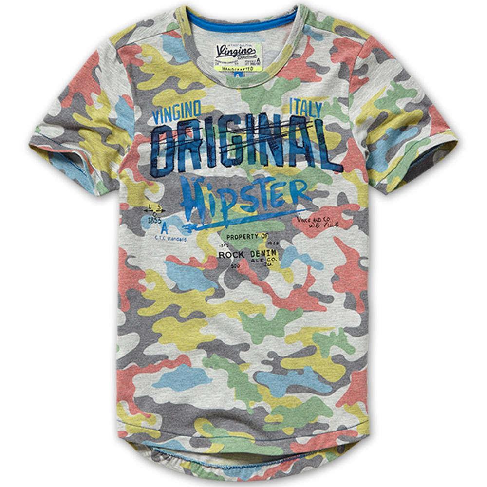Vingino Jisse T Shirt Multi Camo Marisol Kidsfashion