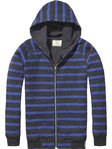 Scotch Shrunk Sweatjacke blue stripe