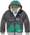 Vingino Terrell Sweatjacke dark grey