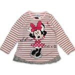 Disney Minnie Mouse Shirt rosa gestreift