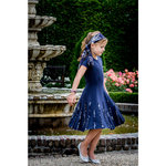 Mr & Mrs Woods festliches Kleid navy