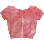 Mayoral Bluse kariert flamingo