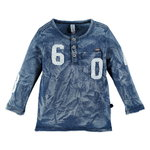 Babyface Langarm Shirt blue denim
