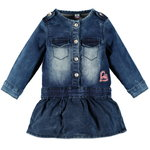 Babyface Jeanskleid jogg denim dark blue