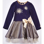 A-Dee Duffy Kleid Firework blue navy