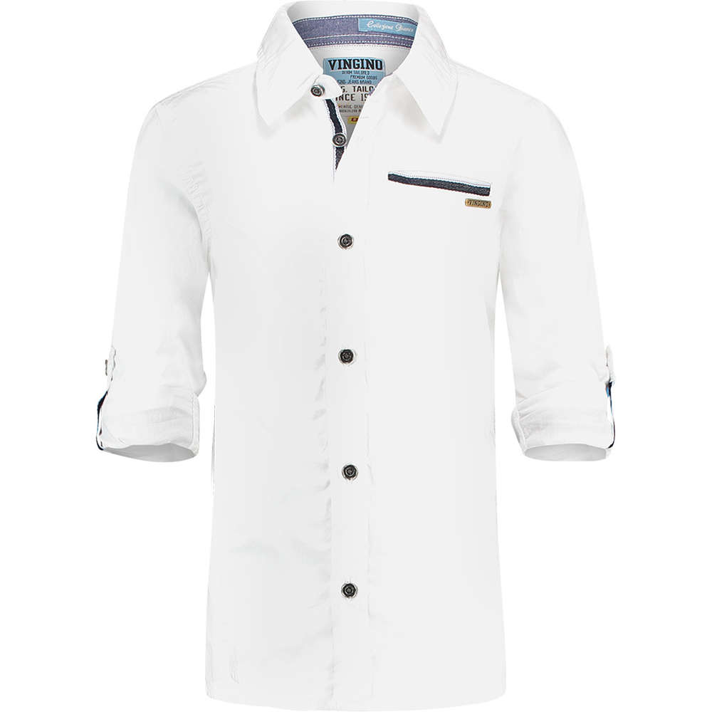4cb8ba30d57 Vingino Lexford festlichen Hemd real white -festlich 2018