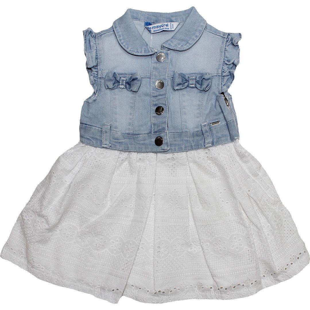 Kleid Baby Weiß