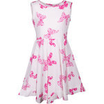 Happy Girls Kleid mit Schmetterlinge pink