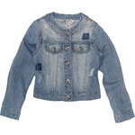 Sarabanda Jeansjacke destroyed light denim