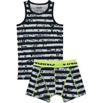 Vingino Finn Set Shorts & Singlet dark blue