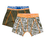 Vingino Nyc Shorts 2 Pack army moos
