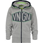 Vingino Oxa Sweatjacke grey melee