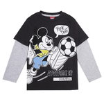 Disney Mickey Shirt Think Fast black