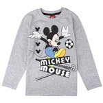 Disney Mickey Shirt Fußball grey
