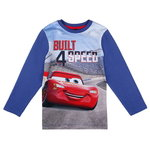 Disney Cars Shirt Built 4 Speed blau