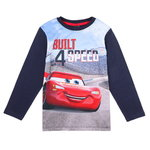 Disney Cars Shirt Built 4 Speed navy