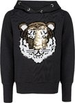 Blue Effect Sweatshirt Tiger Wendepailletten