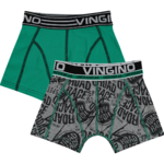 Vingino Race Shorts 2 Pack grey melee