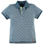 Babyface Polo-Shirt Dots lake