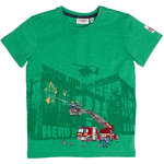 Salt and Pepper T-Shirt Fire Hero green