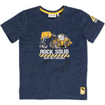 Salt and Pepper T-Shirt Rock Solid blue