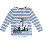 Salt and Pepper Longsleeve 110 Reflektor blue stripe