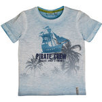 Salt and Pepper T-Shirt Pirates Crew sky blue