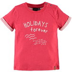 Babyface T-Shirt Holiday tomato red