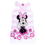 Disney Minnie Mouse Kleid rosa gestreift