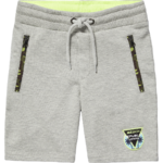 Vingino Raf Sweat Bermuda light grey melee
