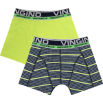 Vingino B 192-5 Boxershorts striped dark blue