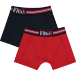 Vingino B 192-4 Boxershorts Plain dark blue