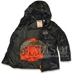 Scotch Shrunk Daunen Jacke camouflage