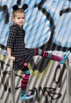 Bonnie Doon Composed Stripe Tights black