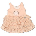 Carbone Baby festliches Kleid rose