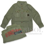 Vingino LENCHO Hemd army green