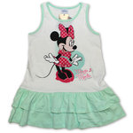 Disney Minnie Maus Kleid weiss-mint