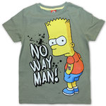 The Simpsons T-Shirt No Way Man olive