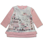 Mayoral Baby Kleid City rosa